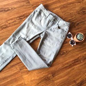 🖤👀 EUC GAP always skinny gray jeans size 29s